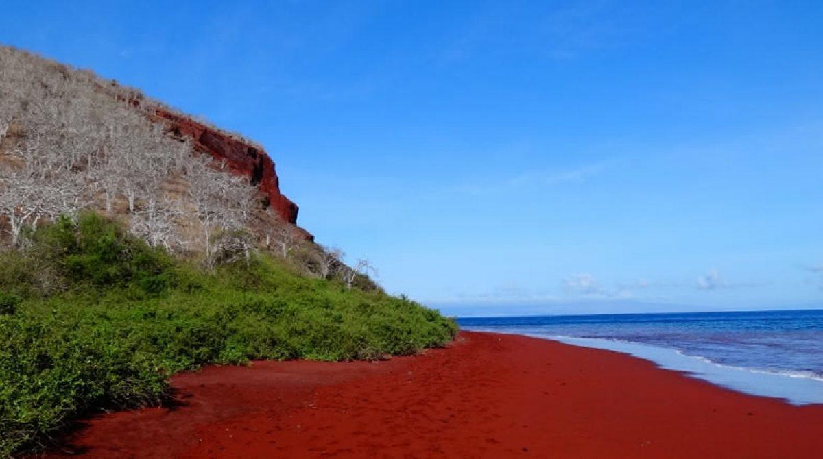 Rabida Red Sand Beach